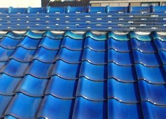 地震や雨にも強い屋根が再生しました