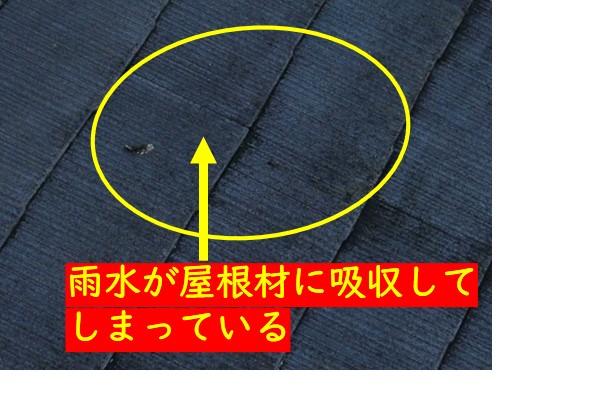 カラーベスト屋根傷み状態