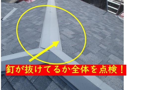 カラーベスト屋根点検方法
