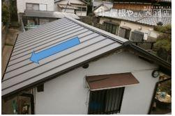 立葺き屋根