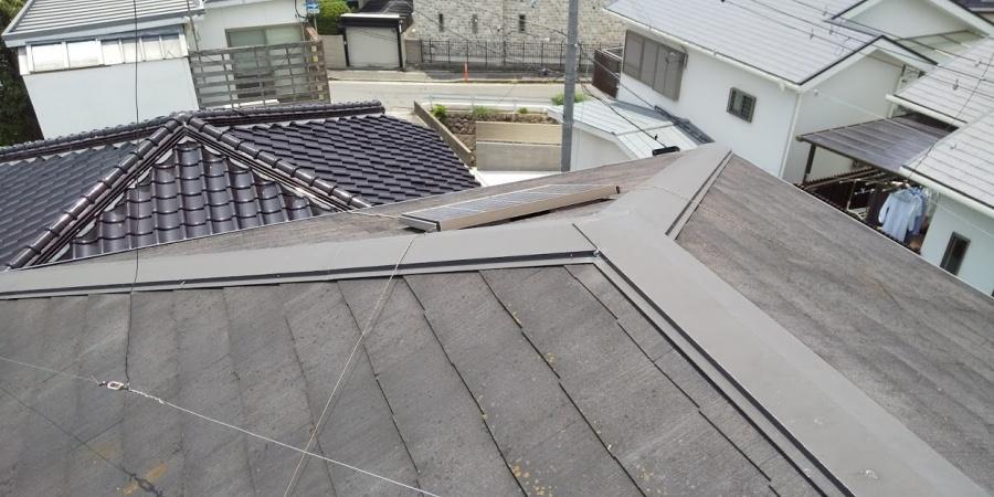 西宮市カラーベスト屋根