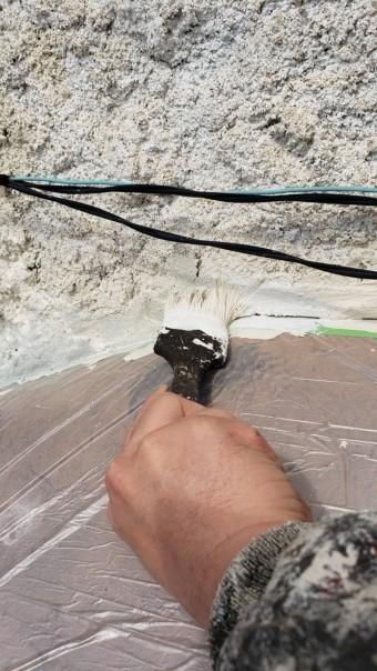 西宮市雨漏り外壁修理14