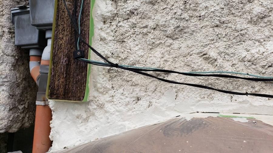 西宮市雨漏り外壁修理15