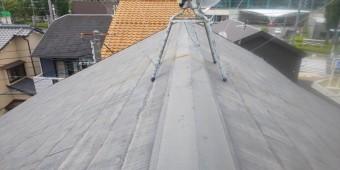 尼崎市築30年カラーベスト屋根修繕方法