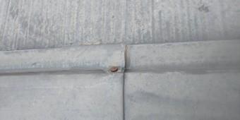 尼崎市板金部分の釘サビ