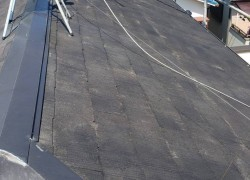 西宮市カラーベスト屋根塗装準備
