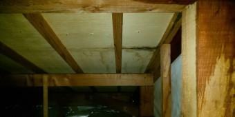 西宮市天井裏雨漏れ被害