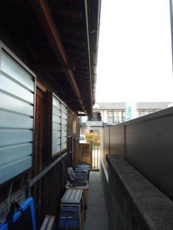直付けテラス屋根工事