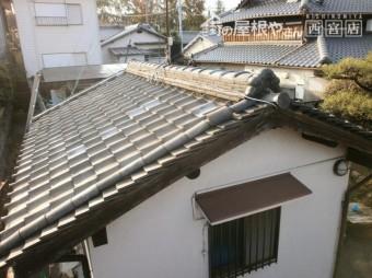 瓦屋根葺き替え