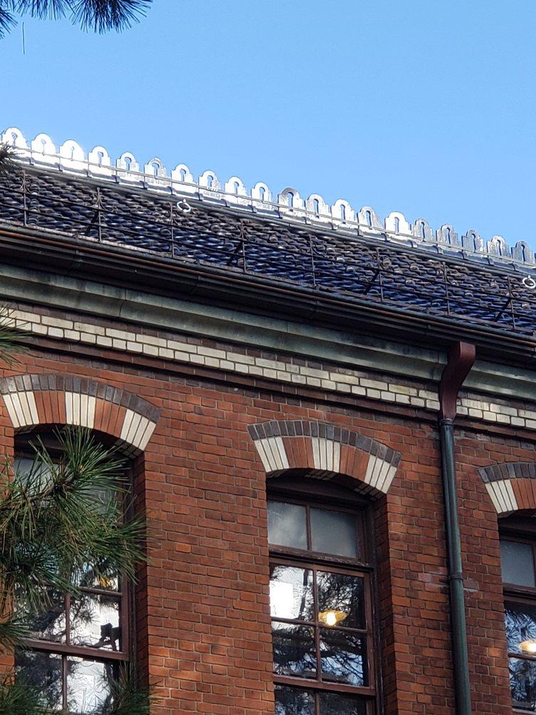 石川四高 かわいい屋根