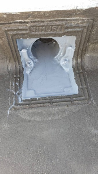 西宮市ALC造雨漏り修理17