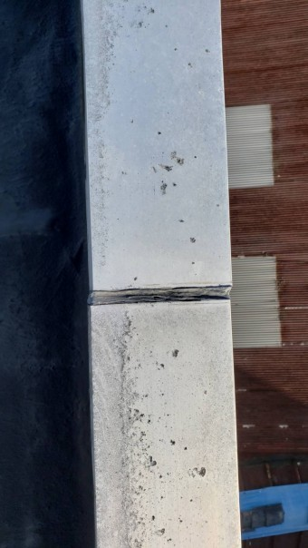 西宮市ALC住宅雨漏り11