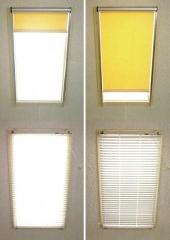 ガラス瓦遮光対策