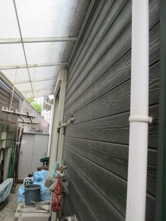 西宮市築15年~築18年程度の外壁サイディング全体