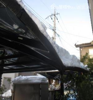 耐積雪オーバーカーポート屋根