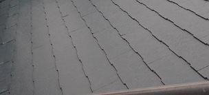 塗装した屋根