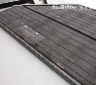 勾配のキツイ屋根
