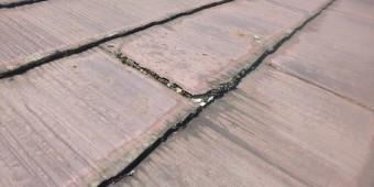 西宮市 戸建て カラーベスト屋根被害