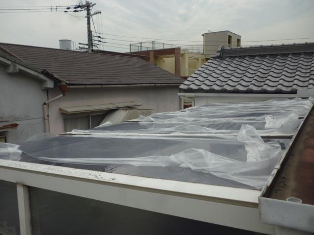 屋根材新設