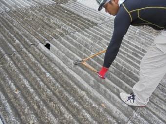 スレート屋根修理3