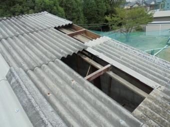スレート屋根修理4