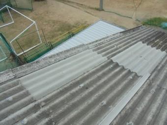 スレート屋根修理2