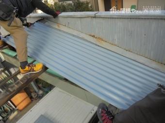 ガレージ屋根修理8