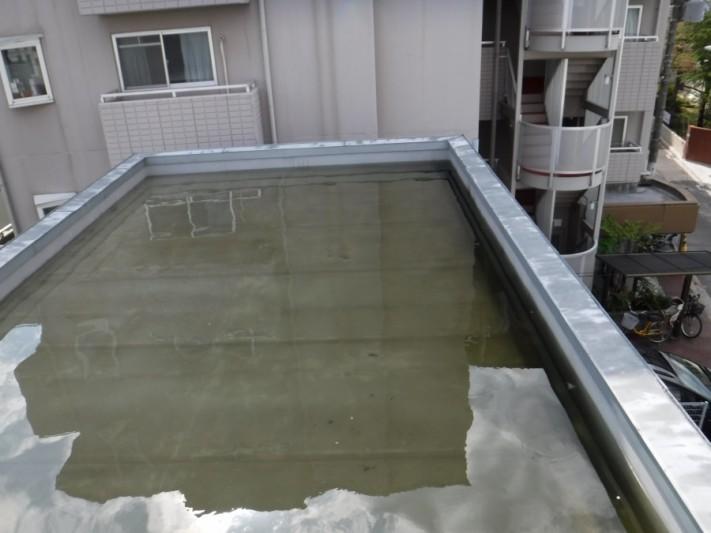 陸屋根雨漏り3