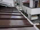 下屋根塗装2