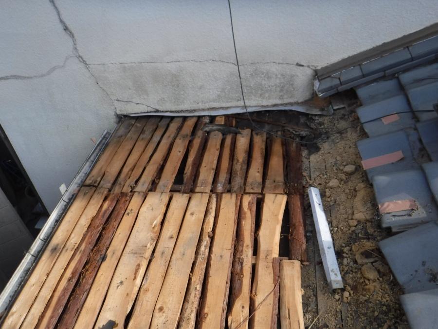 屋根部分葺き替え工事5