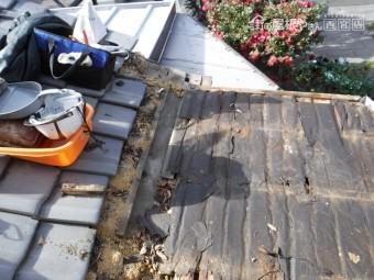 屋根部分葺き替え工事4
