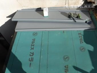 屋根部分葺き替え工事7