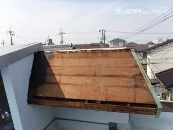 伊丹市雨漏り修理中2