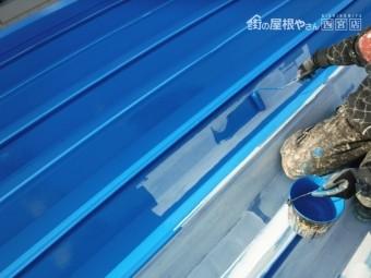 屋根塗装工事仕上げ3