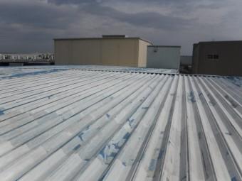 屋根塗装工事仕上げ2