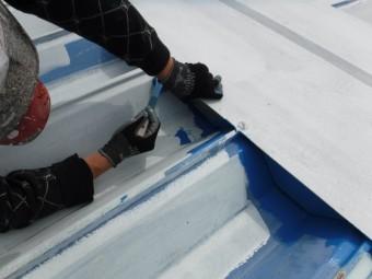 屋根塗装工事仕上げ5