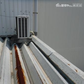 工場雨漏り調査6