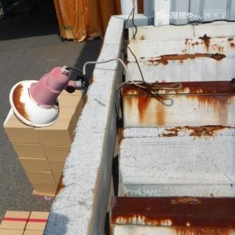 工場雨漏り調査3