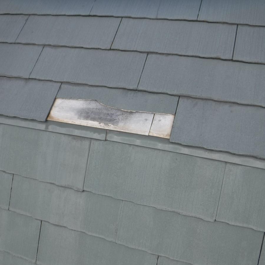 西宮市屋根カラーベスト修理1