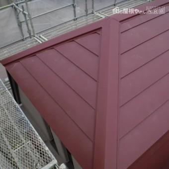 苦楽園屋根カバー工事10