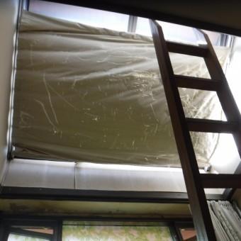天窓雨漏り1