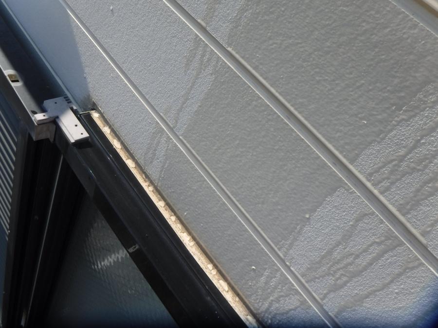西宮市窯業系サイディング壁雨漏れ確認作業