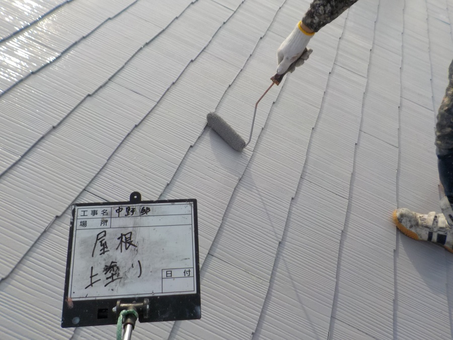 西宮市カラーベスト屋根塗装