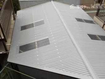 ガレージ屋根修理12