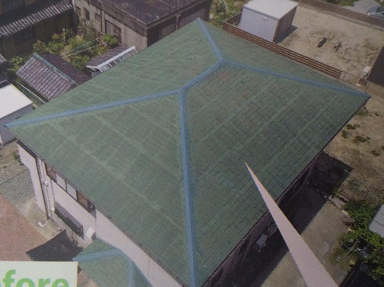 西宮市尼崎市カバー工法が可能な屋根カラーベスト