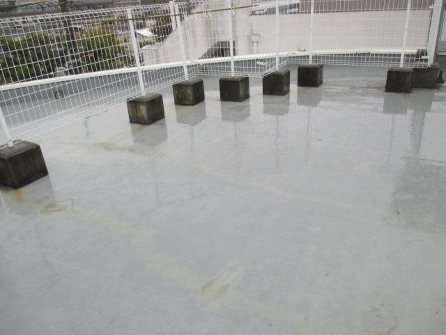 西宮市店舗ビルの屋上防水