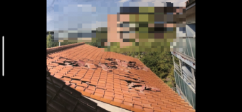 瓦屋根修理1