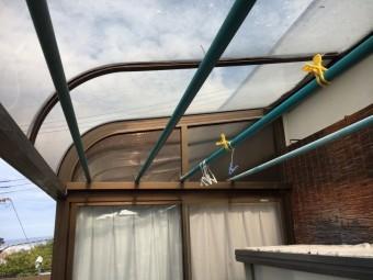テラス屋根 張替
