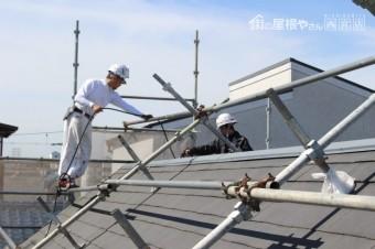 尼崎市屋根塗装工事2