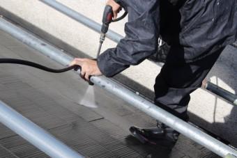 尼崎市屋根塗装工事4